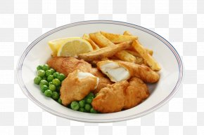 Fried Fish And Fries - Fish And Chips British Cuisine French Fries English Cuisine Fried Fish PNG