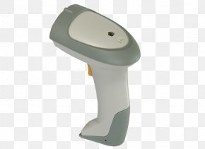 White Gray Wireless Handle Scanner Gun - Lecco Image Scanner Barcode Reader RS-232 PNG