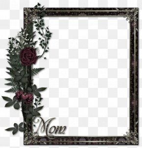 Brown Simple Frame Bouquet Border Texture - Borders And Frames Picture Frame PNG