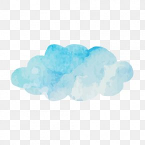 Ink Clouds - Ink Wash Painting Cloud PNG