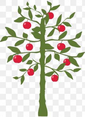 Apple Tree Cartoon Download - Clip Art Apple Lemon Image PNG