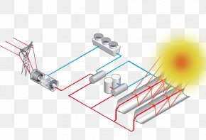 Energy - Concentrated Solar Power Solar Thermal Energy Photovoltaic Power Station Solar Energy PNG