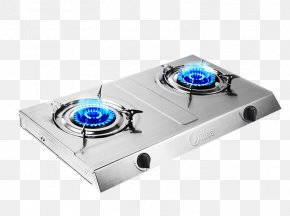 Double Stove Gas Stove Material - Gas Stove Kitchen Hearth PNG