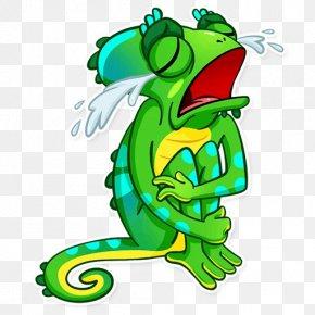 Frog - Tree Frog Cartoon Clip Art PNG