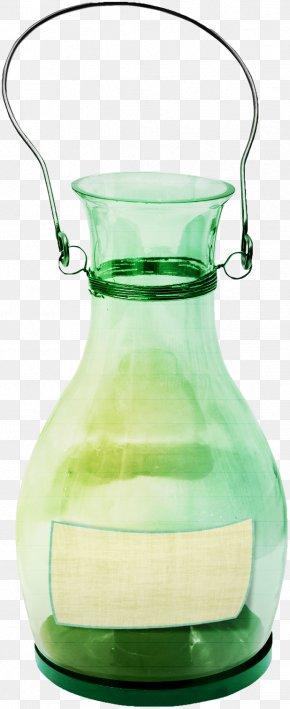 Green Transparent Glass Bottle - Glass Bottle Glass Bottle Transparency And Translucency PNG