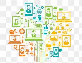 Marketing - Digital Marketing Social Media Internet Of Things Online Advertising PNG