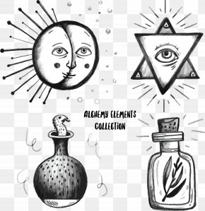 Eye Of God - Alchemy Alchemical Symbol Euclidean Vector Drawing PNG