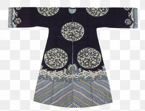 Dark Blue Dress Of The Qing Dynasty - Qing Dynasty History Of China Manchu People Chronologie Des Dynasties Chinoises Magua PNG