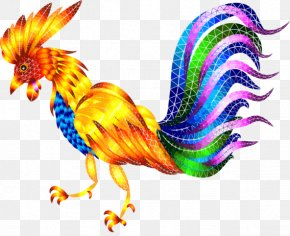 Chinese New Year - Wyandotte Chicken Rooster Chinese New Year Phasianidae Clip Art PNG