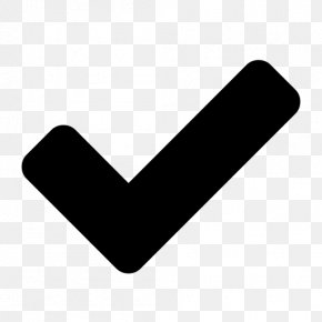 Button - Check Mark Font Awesome PNG