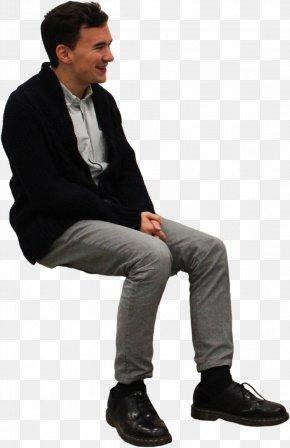 Sitting Man - Sitting Icon PNG
