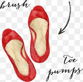 Red Shoes - Clipping Path Image Editing Photo Manipulation PNG