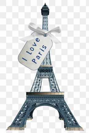 I,Love,Paris - Eiffel Tower Monument Drawing PNG