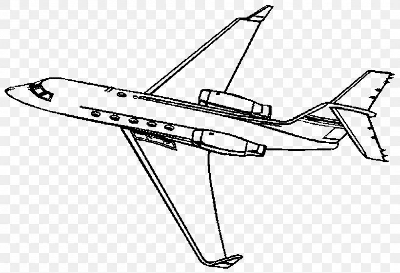 - Airplane Coloring Book Jet Aircraft Business Jet Fighter Aircraft, PNG,  2000x1370px, Airplane, Area, Auto Part, Aviation,