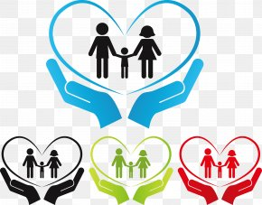 Hand Holding Hands - Child PNG