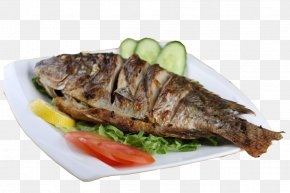A Whole Grilled Fish - Grilling Fish As Food Computer File PNG