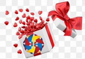 Valentine's Day - Valentine's Day Gift Clip Art PNG
