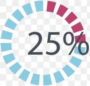 Percentage Chart Ring - Website Web Design PNG