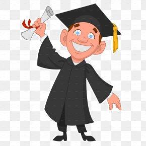 Student - Graduation Ceremony Graduate University Diploma Clip Art PNG