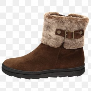 Boot - Snow Boot Shoe Suede Walking PNG