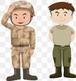 Standing In Line - Soldier Military Royalty-free Illustration PNG