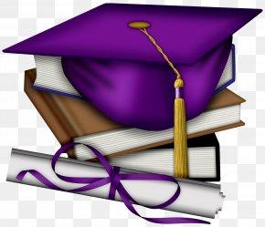 Graduation Gold Cliparts - Sheffield High School Graduation Ceremony Square Academic Cap Purple Clip Art PNG