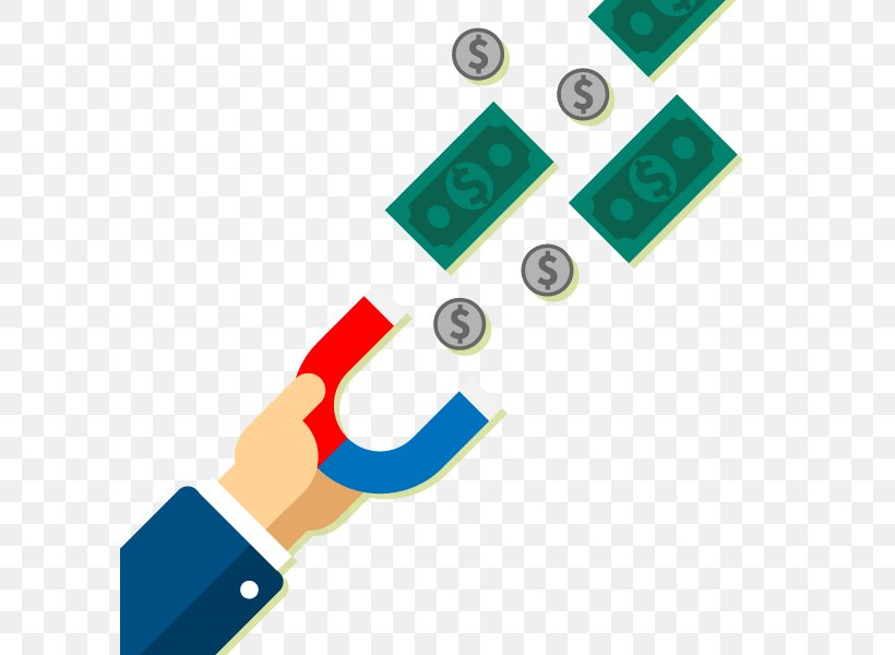 Euclidean Vector Money Illustration, PNG, 600x600px, Craft Magnets, Coin, Electronics Accessory, Magnetic Field, Material Download Free