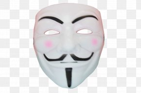 V For Vendetta - Guy Fawkes Mask Jason Voorhees Carnival Halloween PNG