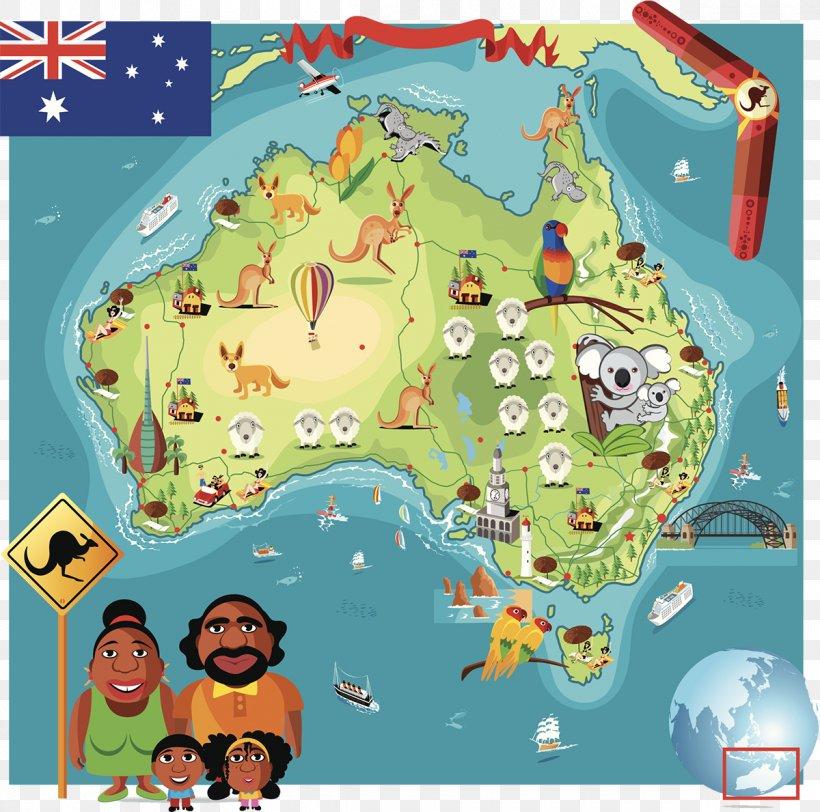 Australia Map Cartoon, PNG, 1200x1189px, Australia, Area ...