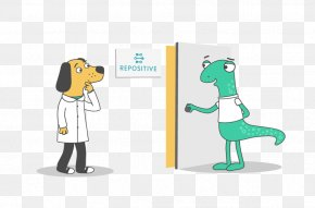 Dog Illustration - Repositive Limited Technology Clipboard Data PNG