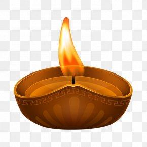 Diwali - Light Diwali Diya Clip Art PNG