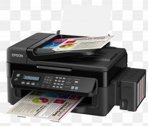Laser Printer - Printer Epson Inkjet Printing Ink Cartridge PNG