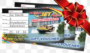 Christmas Voucher - Paradise Jet Boating Gift Card Voucher Discounts And Allowances PNG