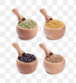 Spoon Ingredients - Chili Con Carne Spice Seasoning Bowl PNG