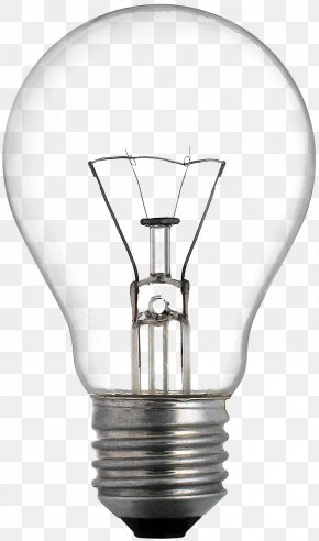 A Light Bulb - Incandescent Light Bulb LED Lamp Light-emitting Diode Lighting PNG