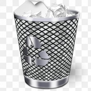Trash Can - Icon Recycling Bin Trash Waste Container PNG