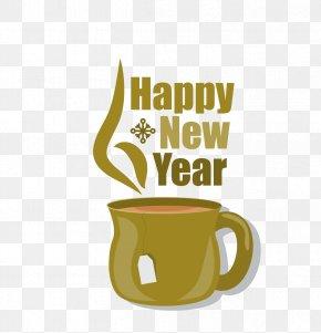 New Year Vector Snow Mugs - Blah Blah Blah Birthday Greeting Card Illustration PNG