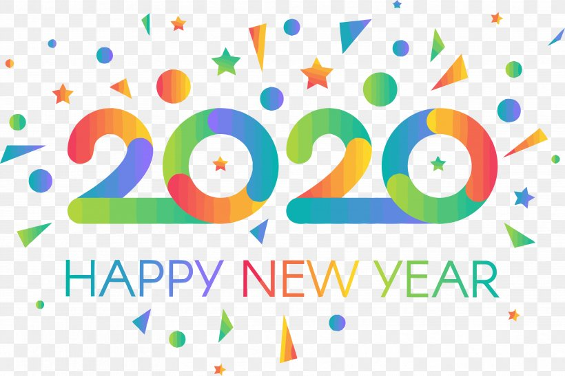 10++ New Year Png 2020