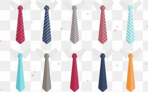 Vector Tie - Necktie T-shirt Suit Euclidean Vector PNG
