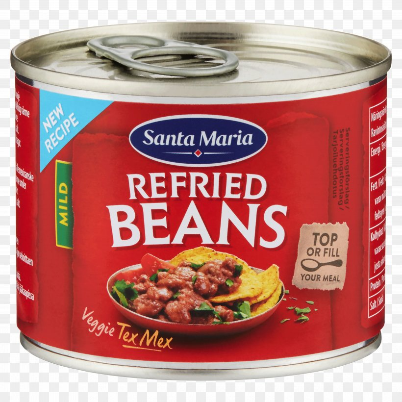 Refried Beans Taco Mexican Cuisine Vegetarian Cuisine Slow Cookers, PNG, 5000x5000px, Refried Beans, Baking, Bean, Canning, Common Bean Download Free