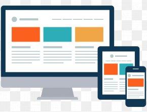 Web Design - Responsive Web Design Web Development Search Engine Optimization PNG