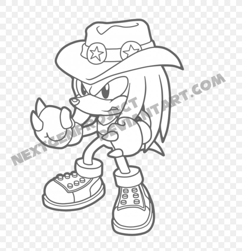 Sonic The Hedgehog Coloring