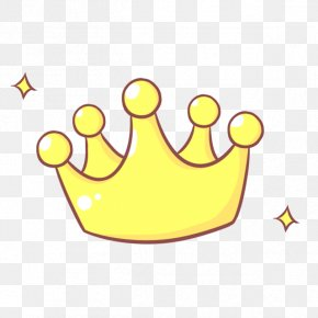 Imperial Crown,Yellow,Cartoon Crown - Cartoon Icon PNG
