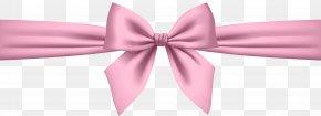 Soft Pink Bow Transparent Clip Art - Pink Clip Art PNG
