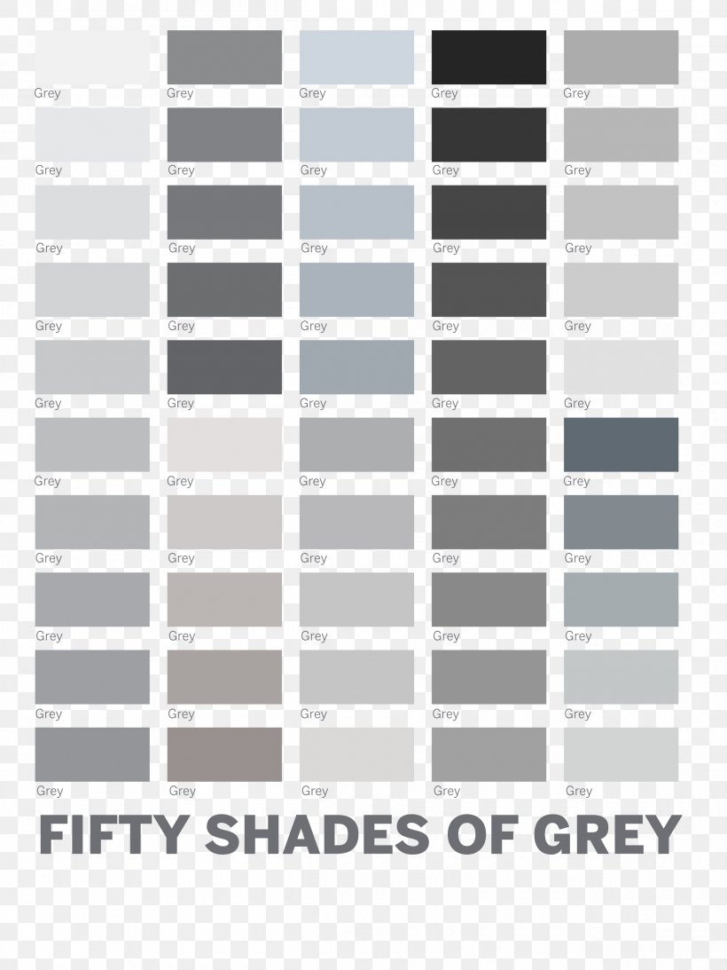 Shades Of Gray Tints And Shades Color Chart Color Scheme Grey Png 2400x3200px Shades Of Gray