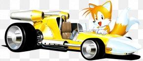 Sonic Allstars Racing Transformed - Sonic & Sega All-Stars Racing Sonic & All-Stars Racing Transformed Sonic Drift Tails Sonic The Hedgehog 2 PNG