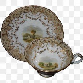 Saucer - Tableware Saucer Platter Ceramic Porcelain PNG