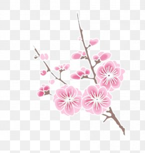 Cherry Blossom Clipart - Cherry Blossom Drawing Clip Art PNG