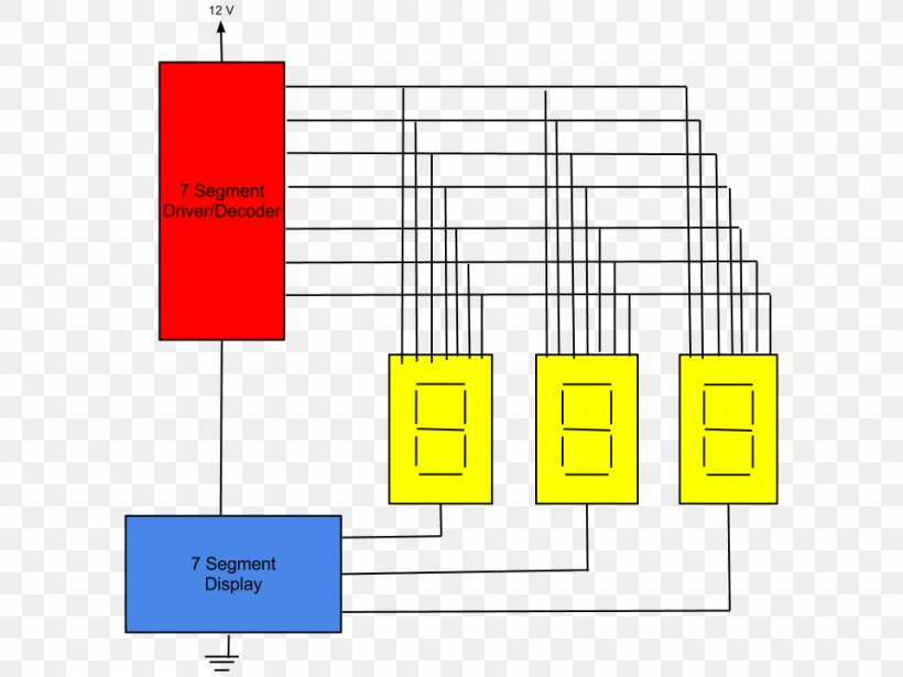 circuit diagram for 7 segment decoder seven segment display electronic circuit relay display device  electronic circuit relay display device