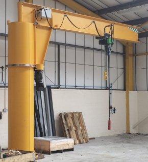 Crane - Gantry Crane Jib Hoist Manufacturing PNG